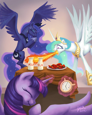 Celestia Eats Hot Peppers