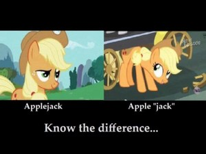 táo, apple JACK joke