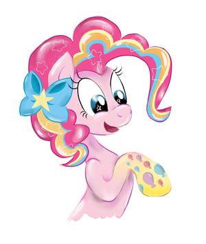 Pinkie Pie pelangi, rainbow