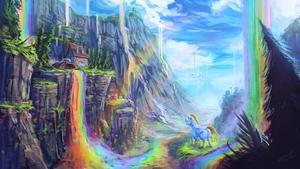 彩虹 Falls