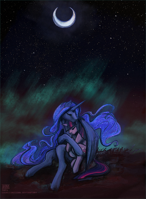 Luna and Twilight