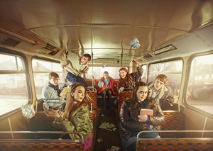 My Mad Fat Diary - Series 2 - The gang