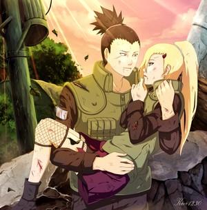 Shikamaru Nara and Ino