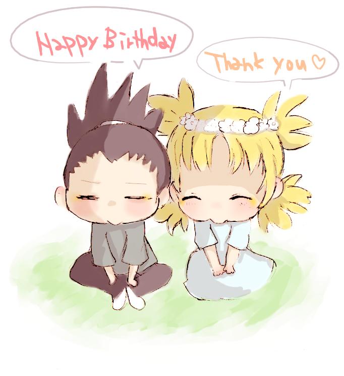 Shikamaru and Temari - Naruto Couples ♥ Fan Art (36576871 ... Gaara And Naruto Chibi