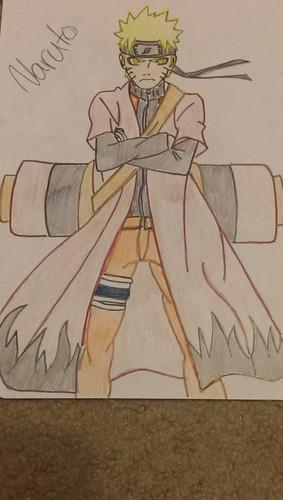 Naruto Shippuuden fond d'écran containing animé titled Naruto Sage Mode