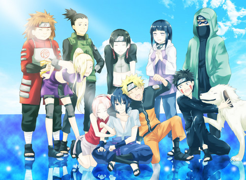 Naruto images naruto characters hd wallpaper and background photos naruto wallpaper entitled naruto characters voltagebd Image collections