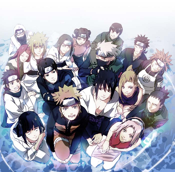 Anime Characters From Naruto : Naruto characters fan art  fanpop