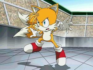 Tails battle