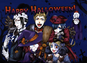 Black Butler Halloween