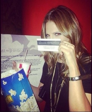 Stana from Nathan's twitter