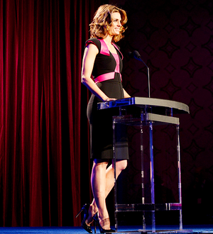 Stana at the Critic Awards,2014