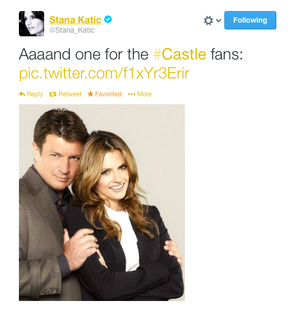Stana's twitter-January,2014