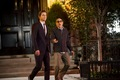 Neal Caffrey and Mozzie