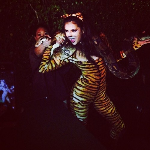 Nina Dobrev wallpaper entitled Nina's 25th Birthday Party