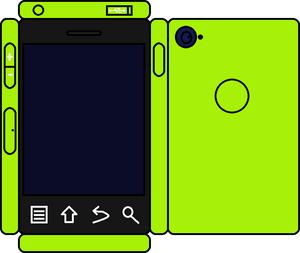 Papercraft घास Phone