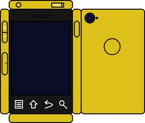 Papercraft नींबू Phone