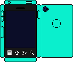 Papercraft Slime Phone