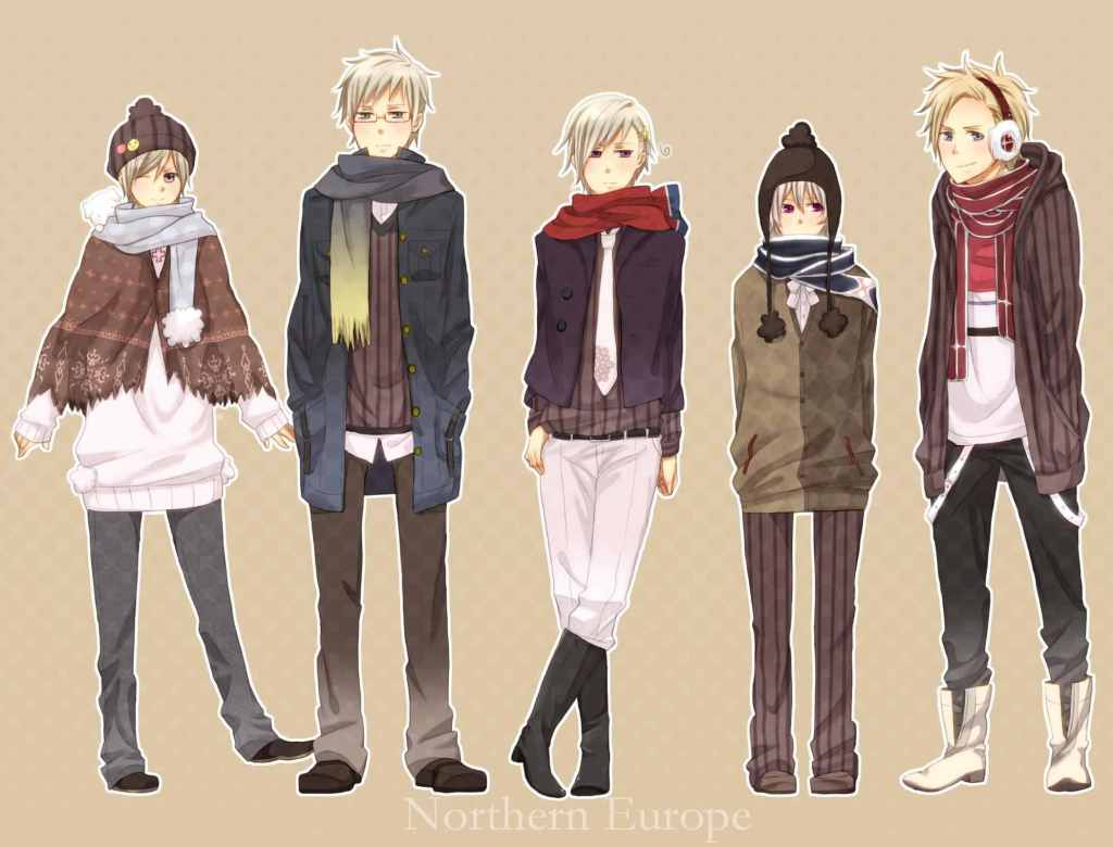 Hetalia nordic 5 the image kid has it for Male wallpaper designs