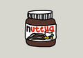 nutella drawing------- <3