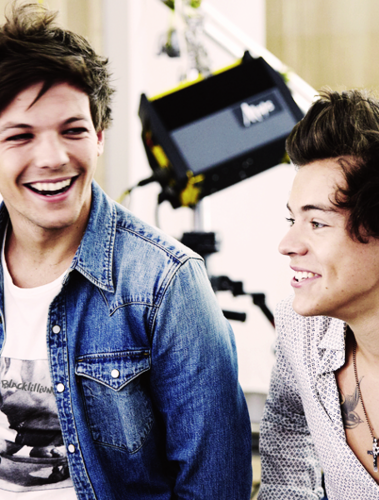 One Direction images Louis and Harry wallpaper and background photos
