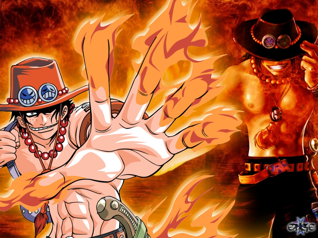 One Piece Ace One☠Piece - Ace - On...