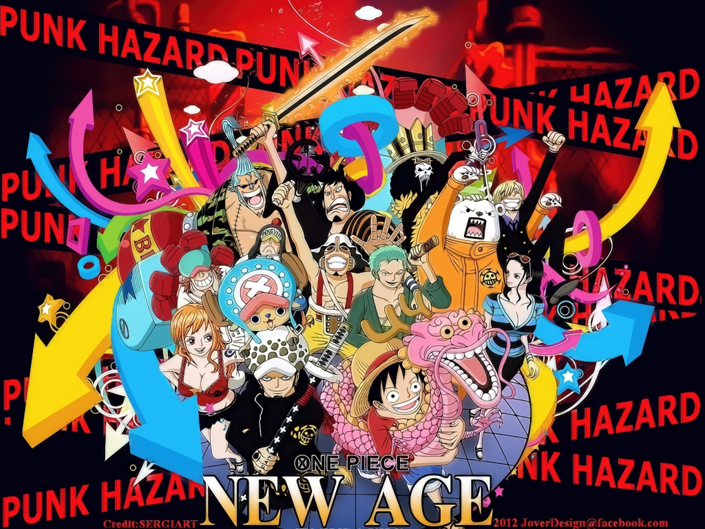 One☠Piece - Punk Hazard