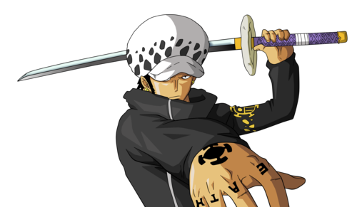 one piece wallpaper entitled *Trafalgar Law*