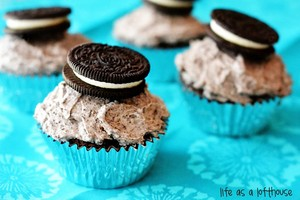 cup cakes oreo <3