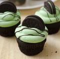 cup cake oreo green