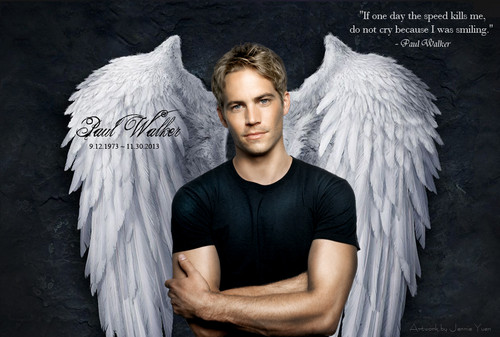 Paul Walker wallpaper entitled Paul Walker Tribute Fan Art