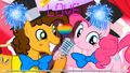 pinkie pie and cheese sandwich
