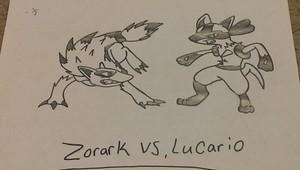 Lucario vs. Zorark