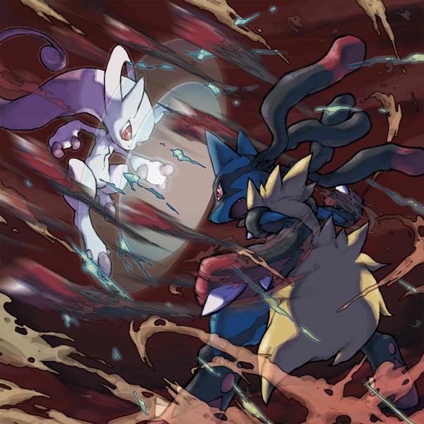 Mega Mewtwo vs Mega Lucario