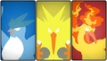 Articuno, Zapdos, and Moltres - pokemon photo