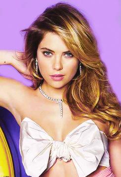Ashley Benson for Cosmopolitan Magazine March 2014