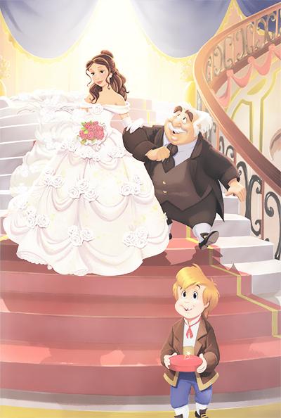 Belle and adam's Wedding - Princess Belle Photo (36553436 ...