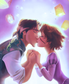 Rapunzel and Eugene - princess-rapunzel-from-tangled photo