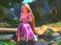 Rapunzel being adorable  - princess-rapunzel-from-tangled photo