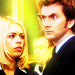 The Tenth Doctor and Rose Tyler - random icon
