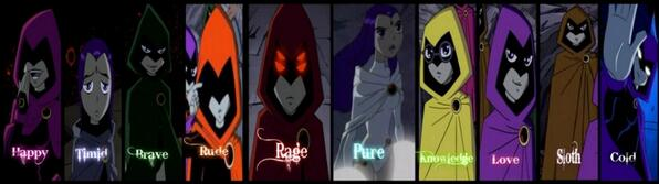 colores OF RAVEN(JY)