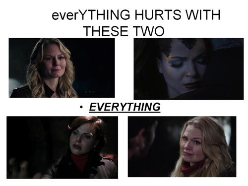 Regina et Emma fond d'écran containing a portrait called cygne Queen