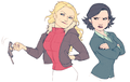 Regina and Emma - regina-and-emma fan art