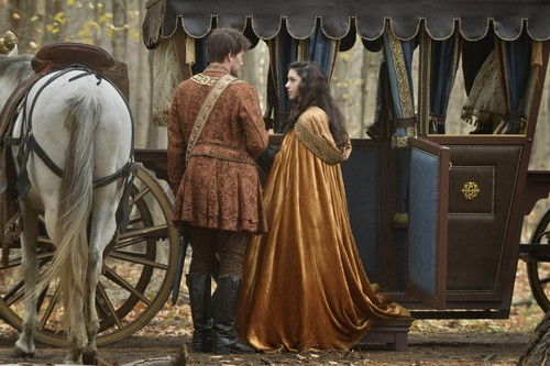 Reign [TV Show] wolpeyper probably containing a chuck wagon and a surcoat called Sebastian and Mary