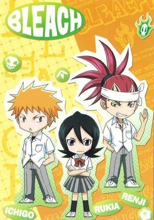 Renji Abarai, Ichigo and Rukia