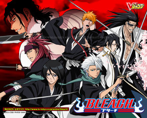 Renji Abarai and Other Shinigamis