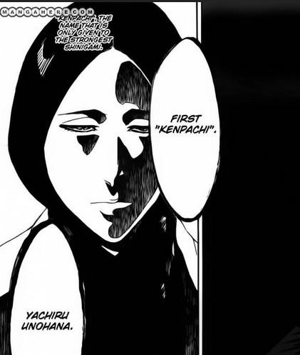 Unohana Yachiru  Yachiru Unohana