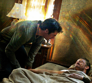 Revolution - Behind The Scenes - David Lyons and Billy Burke
