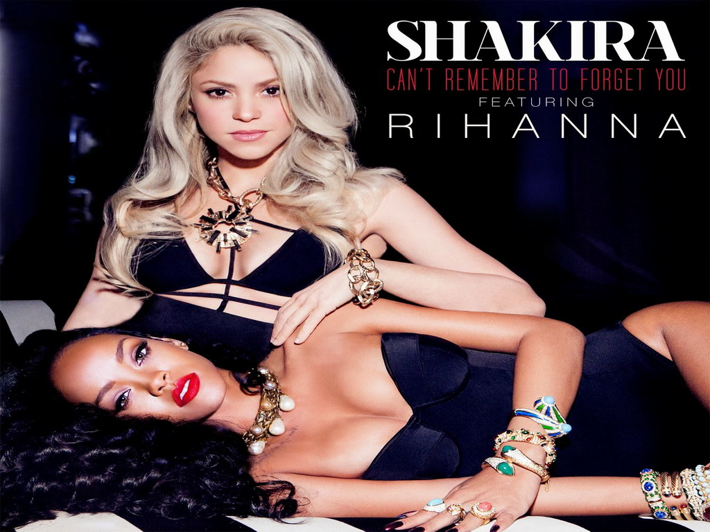 shakira Rihanna hot and