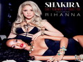 Shakira and Rihanna - rihanna wallpaper