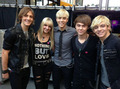 Rocky, Rydel, Riker, Ratliff and Ross